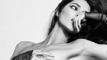 Kendall Jenner Goes Topless to Celebrate the Return of the NBA