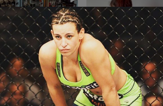 UFC Fighter Miesha Tate Proves Boobs Fix Everything